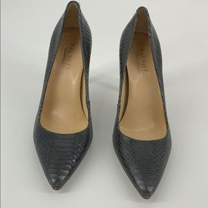 Talbots Leather Pointed Toe Pump Size 8